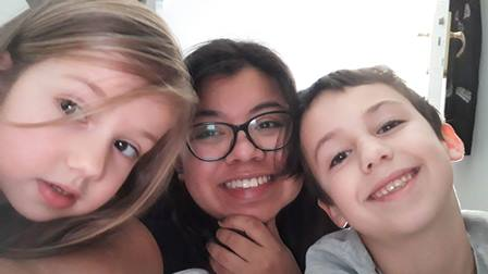Monica, Super Au Pair en France